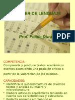 Estructura Textual