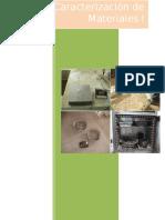 caracterizacion de materiales - Informe 2 Cm Gruesos y Finos.