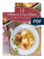 13 Mothers Day Recipes for Brunch and Dessert Free ECookbook