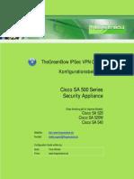 Cisco SA 500 VPN Security Appliance & GreenBow IPSec VPN Client Software Configuration (Deutsch)