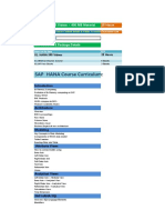SAP HANA SP5 Course Content Details