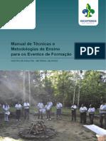 Manual de Tecnicas e Metodologias de Ensino Para Os Eventos de Formacao