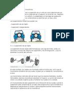 Tipos de Suspensiones Mecánicas