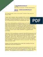Complaint by Kim Buckstein Against Minnesota Judge David Knutson