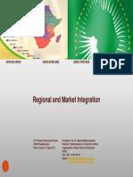 Regional and Market Integration