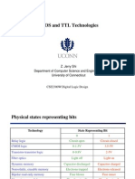 CMOS and TTL Techmologies