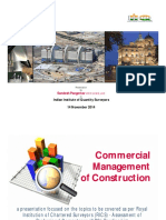Commercial Management of Construction-Sandesh