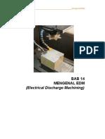 Buku Teknik Pemesinan EDM