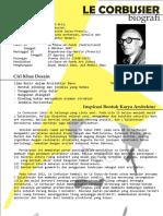 Le Corbusier Biografi & Desain