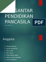 PENGANTAR PENDIDIKAN PANCASILA