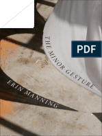 The Minor Gesture by Erin Manning