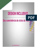 Desingn Inclusivo - Os Principios