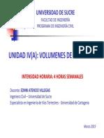 Unidad IIIa - Volumenes de Transito