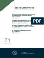 Un Análisis de Los Desequilibrios Del TCR Argentino Bajo Cambios de Régimen