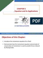 Momentum Eqs and Its Applications