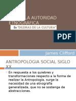 James Clifford, Sobre La Autoridad Etnográfica