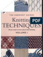 Harmony Guides - Volume 1 - Knitting Techniques