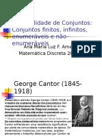 Cardinalidade de Conjuntos 2013 2