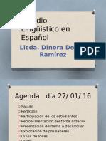 (1) Clase Uno de Español