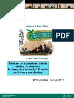 • II Plan Joven Municipal Informe final de resultados de las 89 acciones