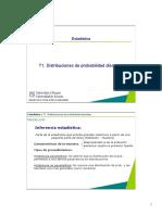 Distribucion de Probabilidadesadasd