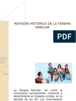 Revisión Histórica de La Terapia Familiar