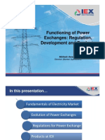 Akhilesh Awasthy - 3 - Functioning of Power Exchanges