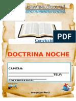 Cuaderno de Doctrina Noche