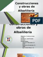 Construcciones y Obras de Albañilería
