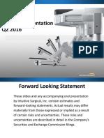 ISRG_Investor Presentation 050316