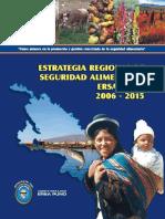 Estrategia Regional Seguridad Alimentaria 2006 - 2015 Puno