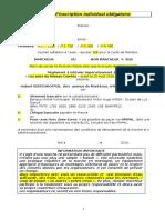 Bulletin d'Inscription Individuel Obligatoire v4