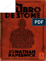 """""""El libro de Stone"""", Jonathan Papernick (Kailas)"""