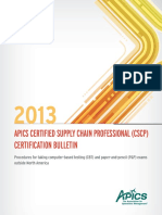 Cscp International Bulletin