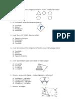 Prueba de Geometria 4° básico
