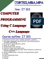 MELJUN CORTES - C Programming