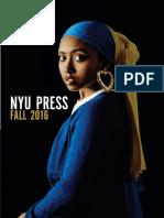 NYU Press | Fall 2016