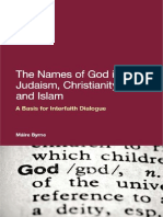 Byrne, Máire-The Names of God in Judaism, Christianity and Islam _ a Basis for Interfaith Dialogue-Bloomsbury Academic_Continuum (2011)