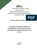AVALIAÇÃO DA PERDA DE MASSA DE REVESTIMENTO DURO DEPOSITDADO POR SOLDAGEM COM ARAME TUBULAR DE LIGA FeCrC-Ti.pdf
