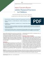 Supracondylus Humeri in Child Fracture