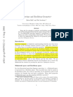 Brill & Jacobson - Spacetime and Euclidean Geometry