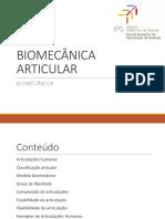 6 Biomecânica Articular