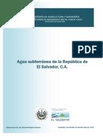 Agua Subterranea de El Salvador