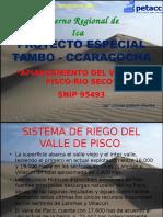Afianzamiento Hidrico Rio Pisco