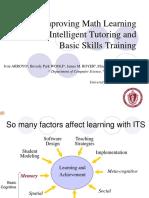 Improving Math Learning Through Intelligent Tutoring