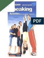 Timesaver Speaking Activities