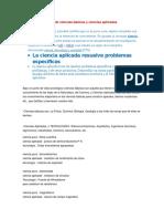 EJEMPLOS DE CIENCIAS BASICAS Y APLICADAS