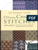 Harmony Guides - Volume 7 - 220 More Crochet Stitches