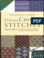 Harmony Guides - Volume 7 - 220 More Crochet Stitches