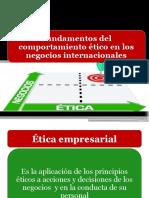 La Etica y La Responsabilidad Social en Los Negocios Internacionales